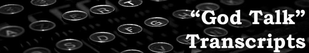 BOOKSTOREgodtalktranscripts