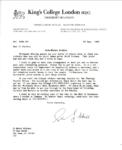 Stuart Hall Letter